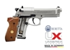 Picture of Αεροβόλο πιστόλι Beretta M 92 FS Nickel Wood Full Pack