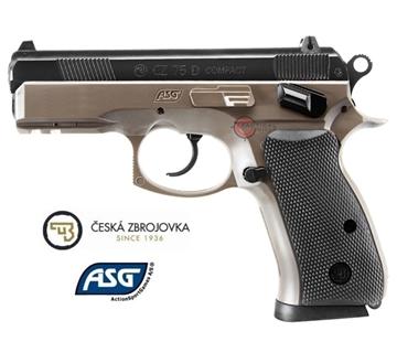 Εικόνα της Airsoft ASG πιστόλι ελατηρίου CZ 75D Compact FDE