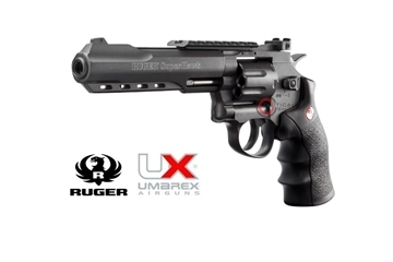 Εικόνα της Airsoft Co2 Ruger Superhawk 6""