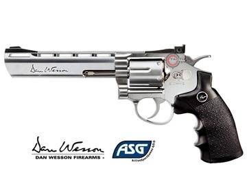 """Εικόνα της Airsoft Περίστροφο ASG Dan Wesson 6"""" Co2 6mm"""
