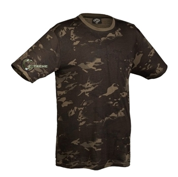 Εικόνα της Μπλουζάκι Mil-Tec T-shirt Multitarn black