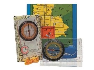 Εικόνα της Πυξίδα Χάρτη Map Compass Mil-Tec
