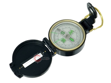 Εικόνα της Πυξίδα Compass US Engineer Metal Black Mil-Tec