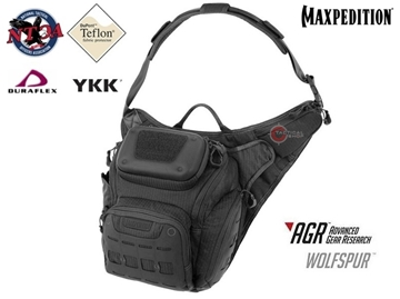 Εικόνα της Τσαντάκι Maxpedition Wolfspur Crossbody Shoulder Bag Black