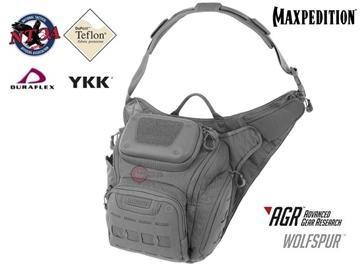 Εικόνα της Τσαντάκι Maxpedition Wolfspur Crossbody Shoulder Bag Γκρι