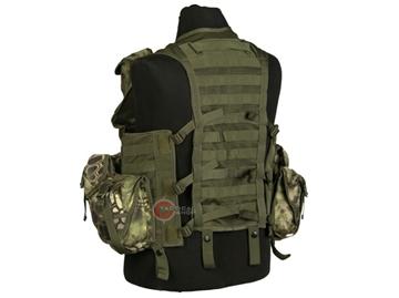 Εικόνα της Γιλέκο Μάχης Tactical Vest Mil-Tec Modular Mandra Wood