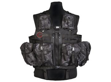 Εικόνα της Γιλέκο Μάχης Tactical Vest Mil-Tec Modular Mandra Night