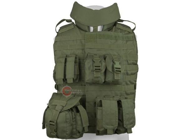 Tacticalshop - Tactical Vest OTV Mil-Tec Olive fabf72b6d37