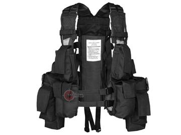 Εικόνα της Γιλέκο Σακίδιο Μάχης Mil-Tec Tactical Vest 12 Pockets Μαύρο