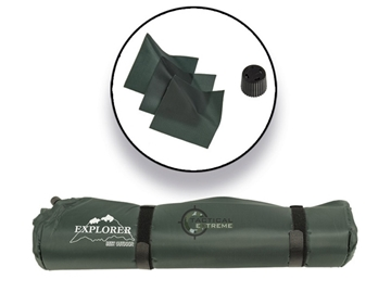 Εικόνα της Αυτοφούσκωτο Υπόστρωμα Explorer Thermo Mat Self Inflating Green