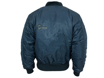 Εικόνα της Μπουφάν Vintage Flight Jacket MA1 Teesar Dark Blue