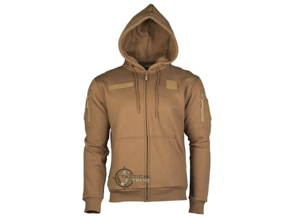 Picture of Ζακέτα Tactical Hoodie Mil-Tec Dark Coyote