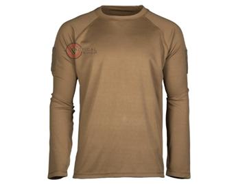 Εικόνα της Μπλουζάκι Long Sleeve Shirt Αντιιδρωτικό Mil-Tec Tactical Quick Dry Μπεζ