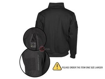 Εικόνα της Μπλούζα Φούτερ Mil-Tec Tactical Sweat Shirt Μαύρη