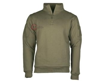 Εικόνα της Μπλούζα Φούτερ Mil-Tec Tactical Sweat Shirt Λαδί