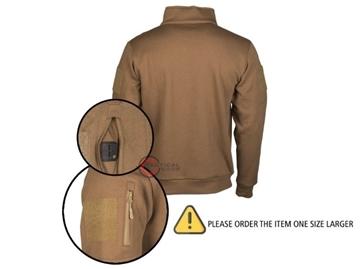 Εικόνα της Μπλούζα Φούτερ Mil-Tec Tactical Sweat Shirt Μπεζ
