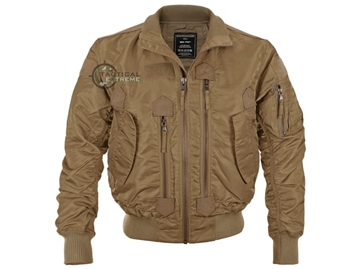 Εικόνα της Μπουφάν US Tactical Flight Jacket Mil-Tec Dark Coyote