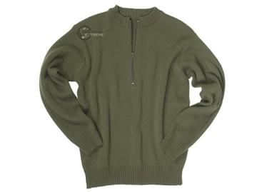 Εικόνα της Πουλόβερ Ελβετικού Στρατού Λαδί Swiss Army Sweater Mil-Tec
