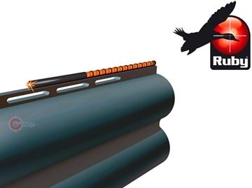 Εικόνα της Αυτοκόλλητο Σκοπευτικό Οπτικής Ίνας Ruby Red 71mm