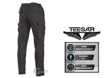 Εικόνα της Παντελόνι Slim Fit US BDU Field Teesar Μαύρο