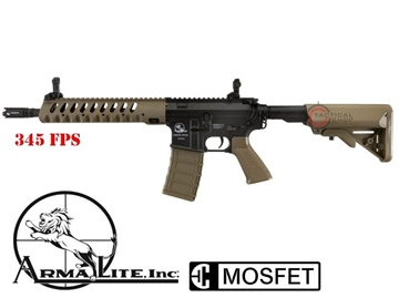 Εικόνα της Τουφέκι AEG Airsoft ASG Armalite M15 Light Tactical FDE 6mm