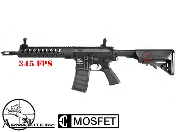 Εικόνα της Τουφέκι AEG Airsoft ASG Armalite M15 Light Tactical Black 6mm