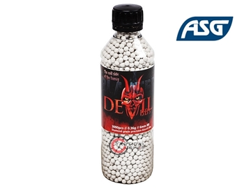 Εικόνα της Μπίλιες Airsoft Blaster Devil 6mm 0,36 gr 3000pcs bottle...