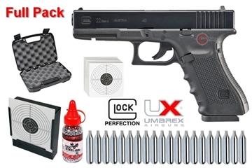 Εικόνα της Αεροβόλο Glock 22 Gen 4 Umarex 4.5mm Full Pack