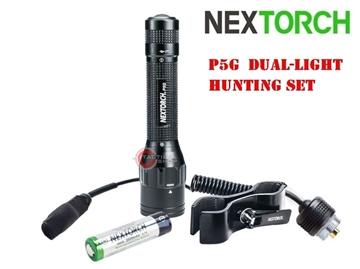 Εικόνα της Επαναφορτιζόμενος Φακός Nextorch P5G Set Hunting Set