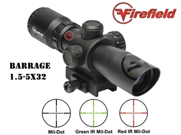 Εικόνα της Filefild Barrage 1.5-5x32 Riflescope