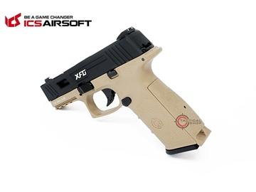 Εικόνα της Airsoft Πιστόλι Αερίου ICS XFG GBB 6mm Dual-Tone