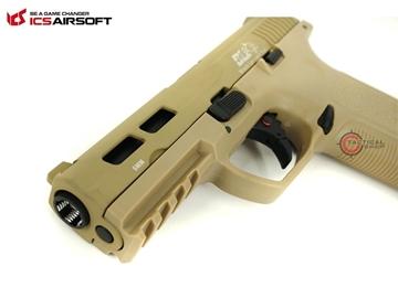 Εικόνα της Airsoft Πιστόλι Αερίου ICS XFG GBB 6mm Tan