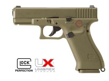 Εικόνα της Αεροβόλο Glock 19X Coyote Blowback 4.5mm Co2