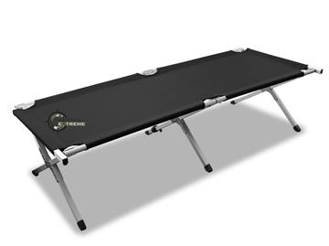 Εικόνα της Κρεβάτι Εκστρατείας Μαύρο Miltec Aluminium Folding Cot