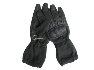 Εικόνα της Γάντια Mil-Tec Action Gloves w. Cuff Flame Retard Μαύρα
