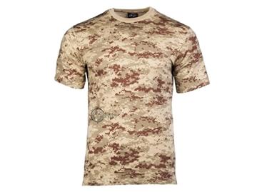 Εικόνα της Μπλουζάκι Mil-Tec T-shirt Digital Desert