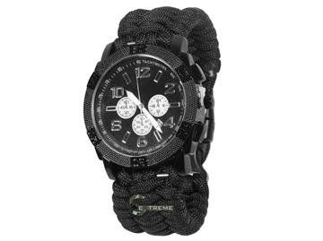 Εικόνα της Mil-Tec Watch Paracord Bracelet Black