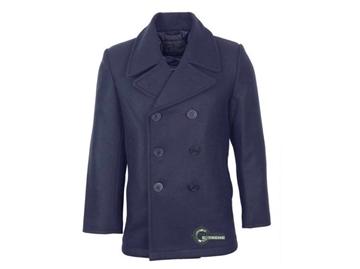 Εικόνα της Παλτό Peacoat US Navy Wool Μπλε Σκούρο