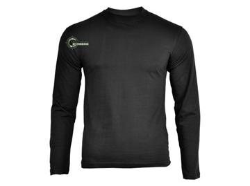 Εικόνα της Μπλούζα Μακρυμάνικη Mil-Tec US Longsleeve T-shirt Μαύρο
