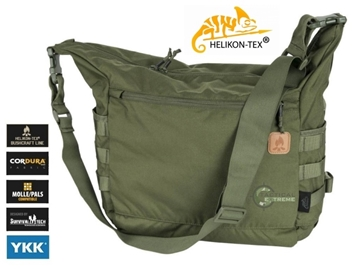 Εικόνα της Helikon Bushcraft Satchel Bag Olive
