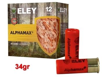 Εικόνα της Φυσίγγια Eley Hawk Alphamax 34gr