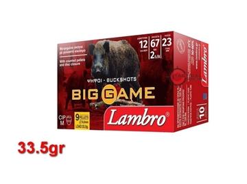 Εικόνα της 9βολα Φυσίγγια Lambro Big Game 33.5gr