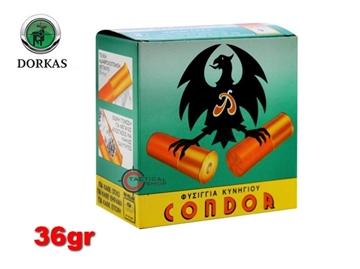 Εικόνα της Φυσίγγια Condor Dorkas 36gr