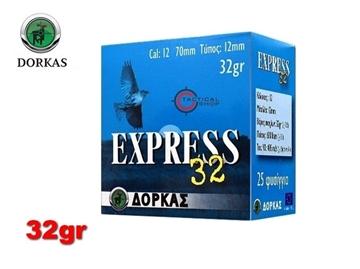 Εικόνα της Φυσίγγια Dorkas Express 32gr