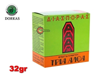Εικόνα της Διασποράς Τρία Άλφα Dorkas 32gr