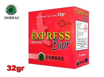 Εικόνα της Φυσίγγια Dorkas Express Bior 32gr