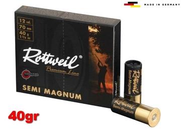 Εικόνα της Φυσίγγια Rottweil Semi Magnum 40gr