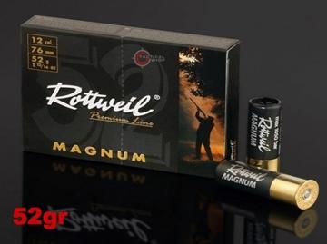 Εικόνα της Φυσίγγια Rottweil Magnum 52gr