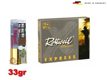 Εικόνα της 9βολα Φυσίγγια Rottweil Express