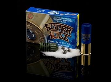 Εικόνα της Φυσίγγια Superkill 3+1 Magnum